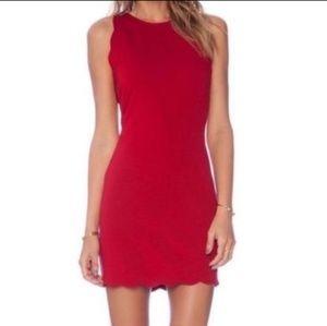 Red Mini Dress For Love and Lemons
